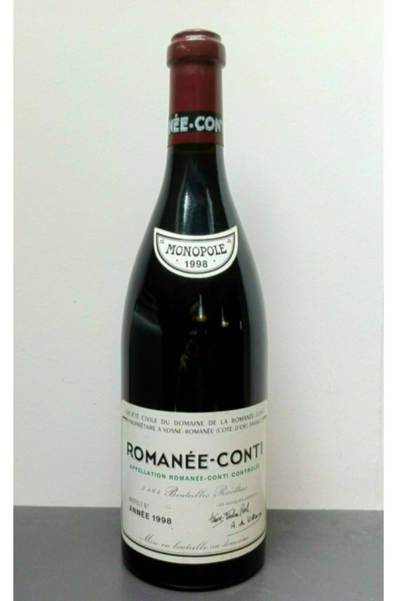 Romanée Conti Romanée Conti 1998
