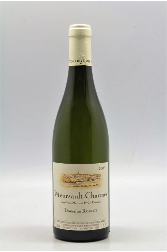 Roulot Meursault 1er cru Les Charmes 2005
