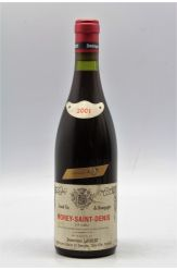 Dominique Laurent Morey Saint Denis 1er cru Vieilles Vignes 2001