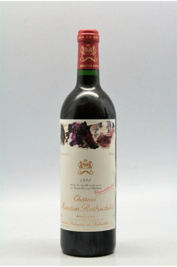 Mouton Rothschild 1992