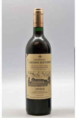 Mission Haut Brion 1993 - PROMO -10% !