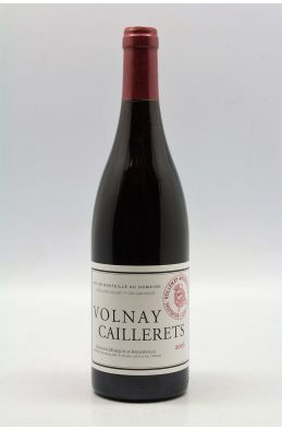 Marquis d'Angerville Volnay 1er Cru Caillerets 2016
