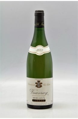 Foreau Vouvray Moelleux 2003