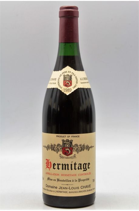 Jean Louis Chave Hermitage 1989