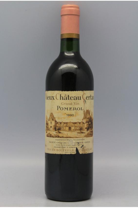 Vieux Chateau Certan 1990