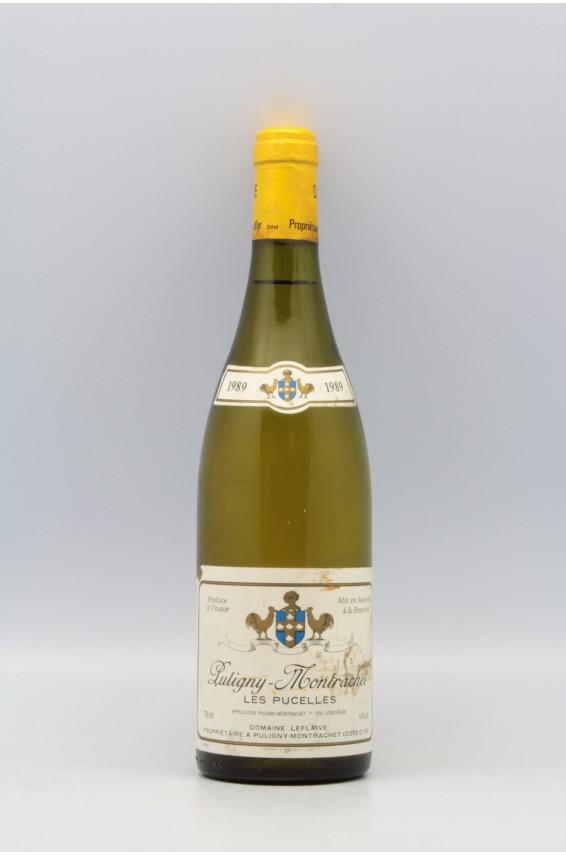 Domaine Leflaive Puligny Montrachet 1er cru Les Pucelles 1989