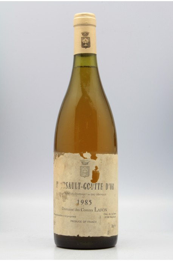 Comtes Lafon Meursault 1er cru Goutte d'Or 1985