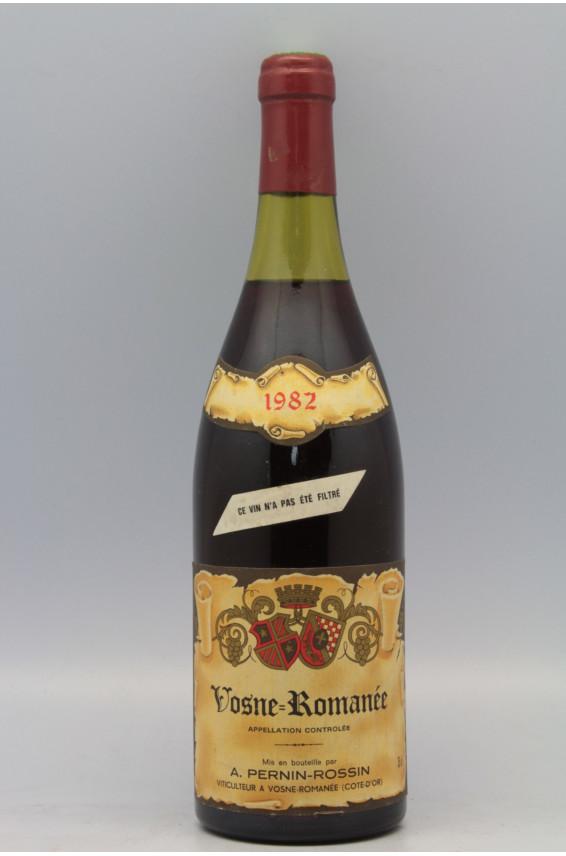 Pernin Rossin Vosne Romanée 1982