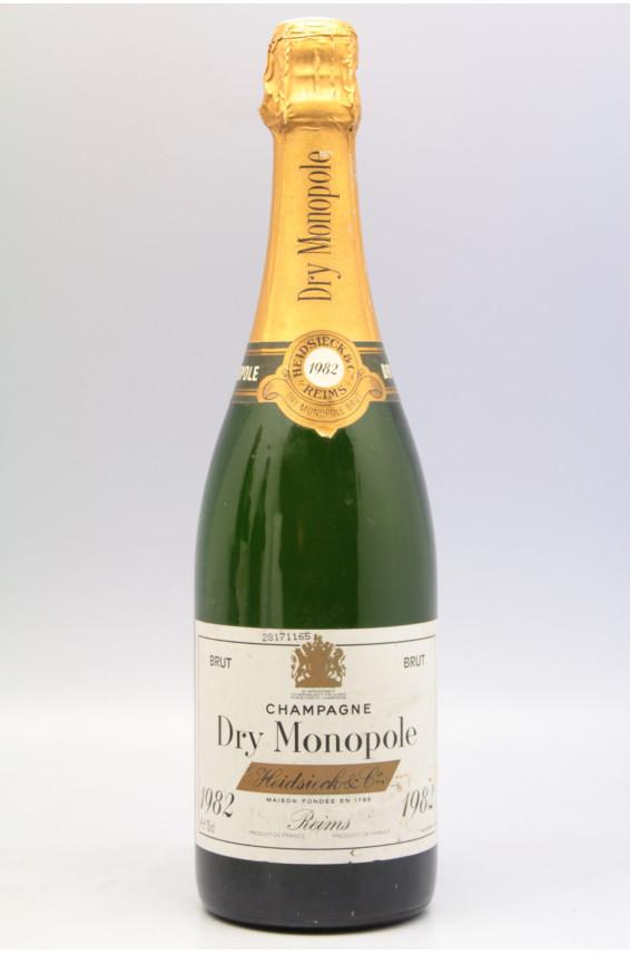 Heidsieck Dry Monopole 1982