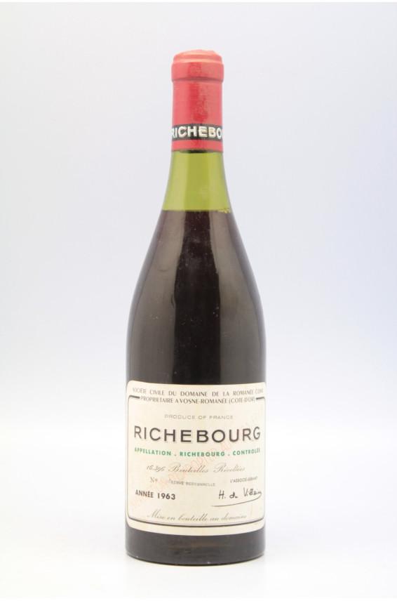 Romanée Conti Richebourg 1963