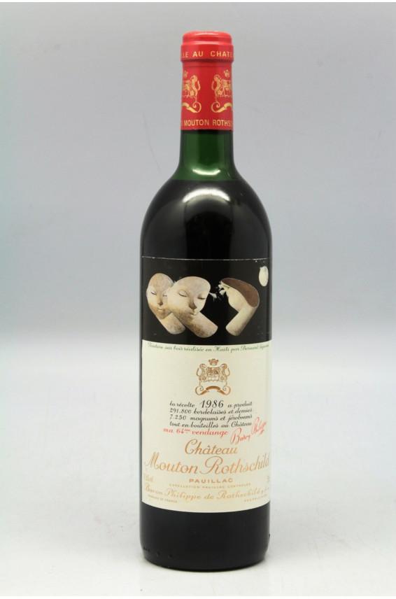 Mouton Rothschild 1986 - PROMO -5% !