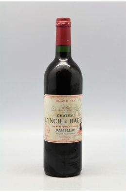 Lynch Bages 1998 -10% DISCOUNT !