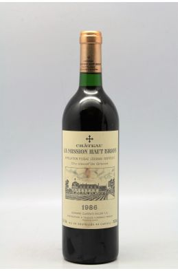 Mission Haut Brion 1986 -5% DISCOUNT !