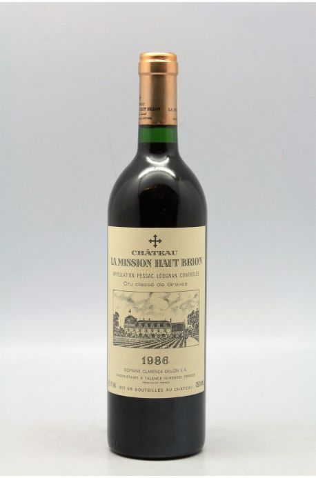 Mission Haut Brion 1986