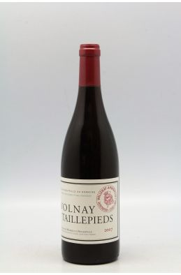 Marquis d'Angerville Volnay 1er cru Taillepieds 2007