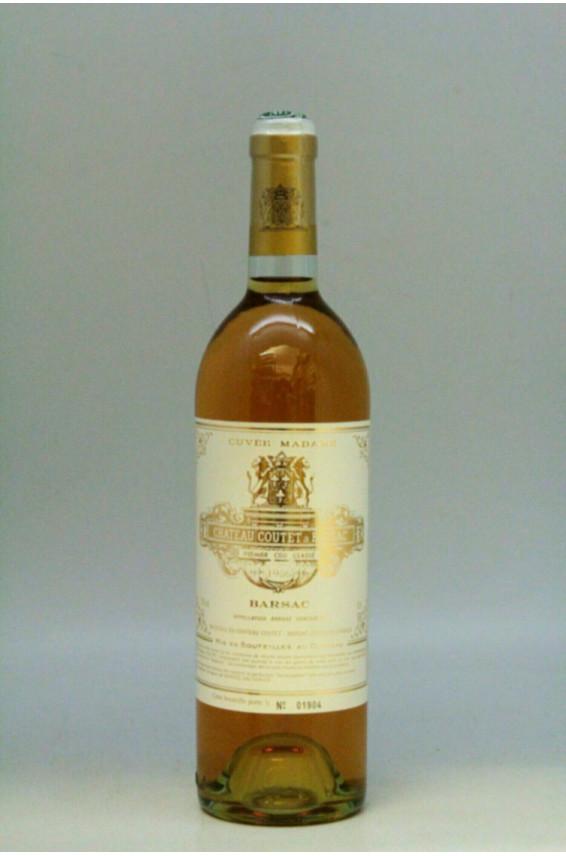 Coutet Cuvée Madame 1986
