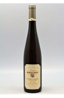 Deiss Alsace Grand cru Pinot Gris Altenberg de Bergheim Sélection de Grains Nobles 2000