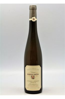 Deiss Alsace Grand cru Gewurztraminer Altenberg de Bergheim Sélection de Grains Nobles 1997