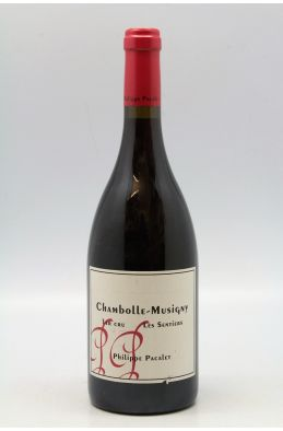Philippe Pacalet Chambolle Musigny 1er cru Les Sentiers 2014
