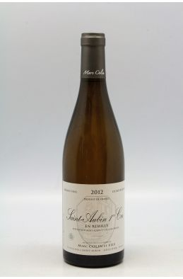 Marc Colin Saint Aubin 1er cru En Remilly 2012