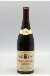 Ghislaine Barthod Chambolle Musigny 1er cru Les Châtelots 2007