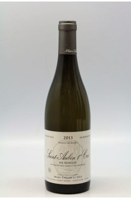 Marc Colin Saint Aubin 1er cru En Remilly 2013