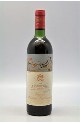 Mouton Rothschild 1981 -10% DISCOUNT !