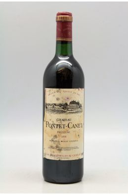 Pontet Canet 1990 -10% DISCOUNT !