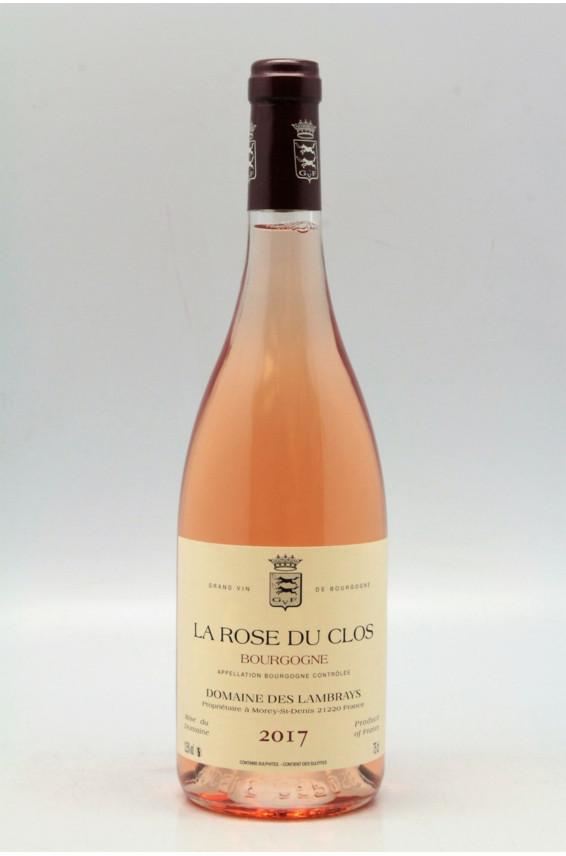Domaine des Lambrays Bourgogne La Rose du Clos 2017 Rosé