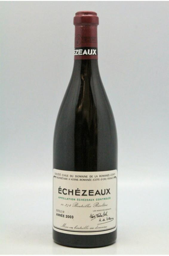 Romanée Conti Echezeaux 2003