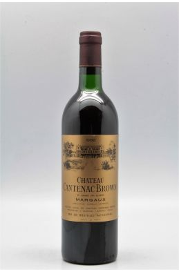 Cantenac Brown 1986
