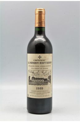 Mission Haut Brion 1989 -5% DISCOUNT !