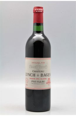 Lynch Bages 1982