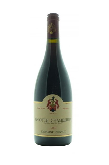 Ponsot Griotte Chambertin 2001