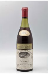 Bernard Delagrange Beaune 1970 Rouge