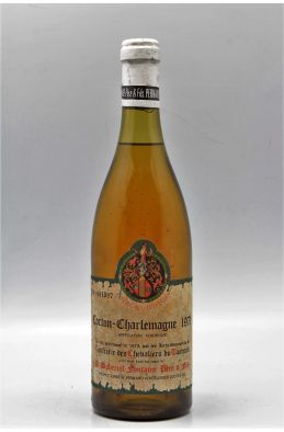 Dubreuil Fontaine Corton Charlemagne 1971