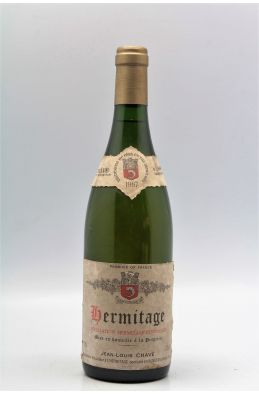 Jean Louis Chave Hermitage 1987 blanc