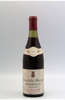 Groffier Chambolle Musigny 1er cru Les Amoureuses 1982