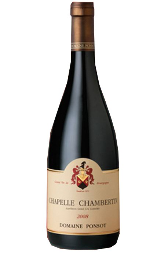 Ponsot Chapelle Chambertin Grand cru 2001