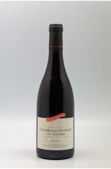 David Duband Chambolle Musigny 1er cru Les Sentiers 2011
