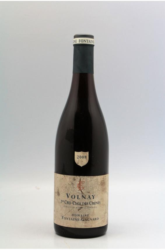 Fontaine Gagnard Volnay 1er cru Clos des Chênes 2008 -10% DISCOUNT !