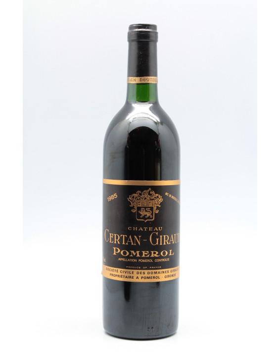 Certan Giraud 1985