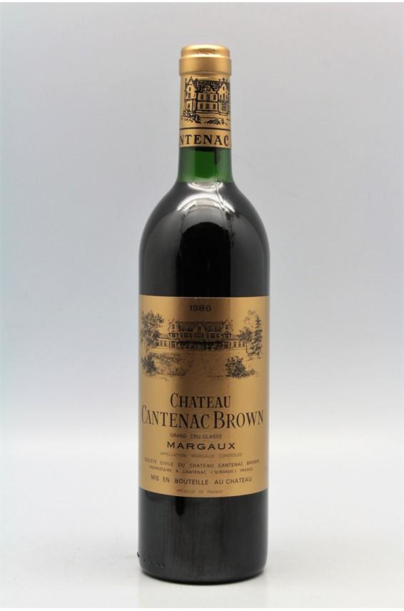 Cantenac Brown 1986