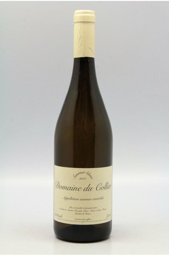 Domaine du Collier Saumur 2014 blanc