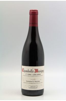 Georges Roumier Chambolle Musigny 1er cru Les Cras 2010 -5% DISCOUNT !