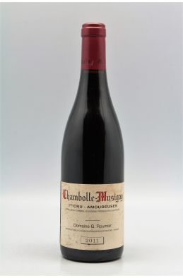 Georges Roumier Chambolle Musigny 1er cru Les Amoureuses 2011 -5% DISCOUNT !