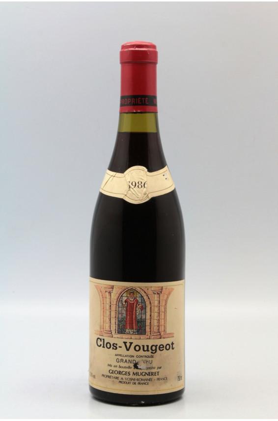 Mugneret Gibourg Clos Vougeot 1986