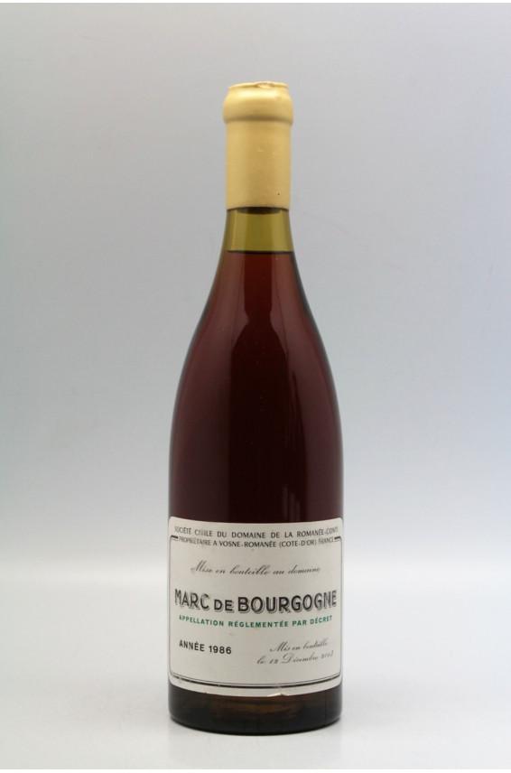 Romanée Conti Marc de Bourgogne 1986