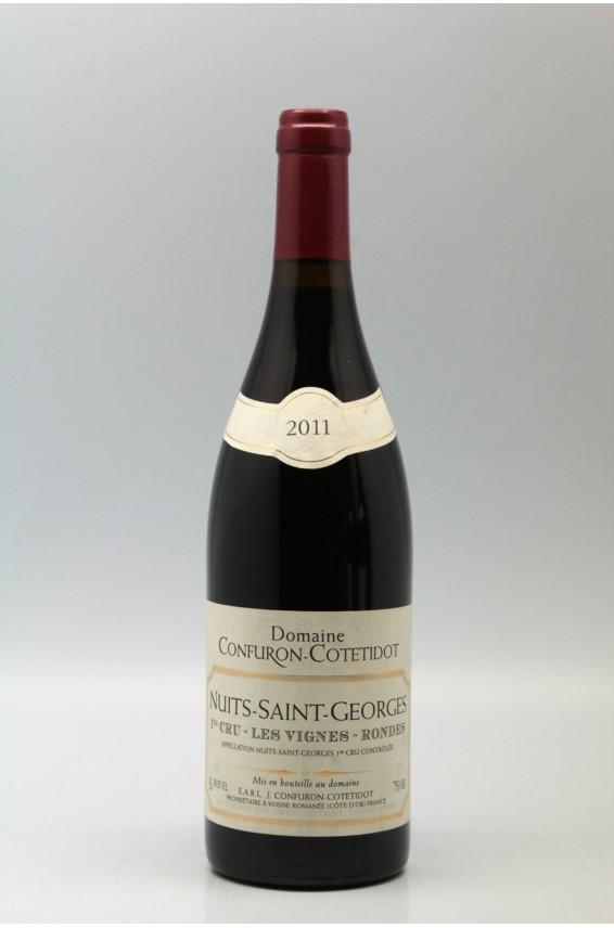Confuron Cotetidot Nuits Saint Georges 1er cru Les Vignes Rondes 2011