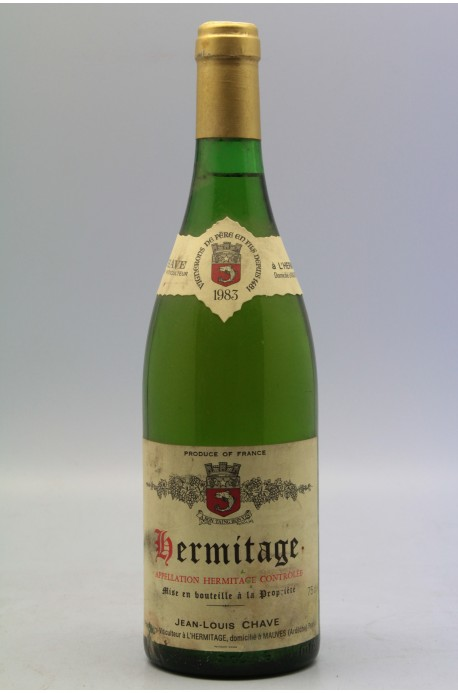 Jean Louis Chave Hermitage 1983 blanc